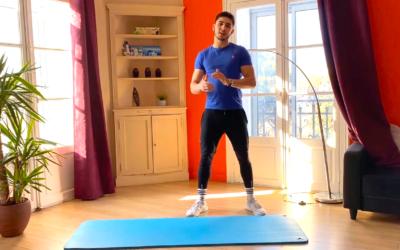Une séance spéciale jambes bétons