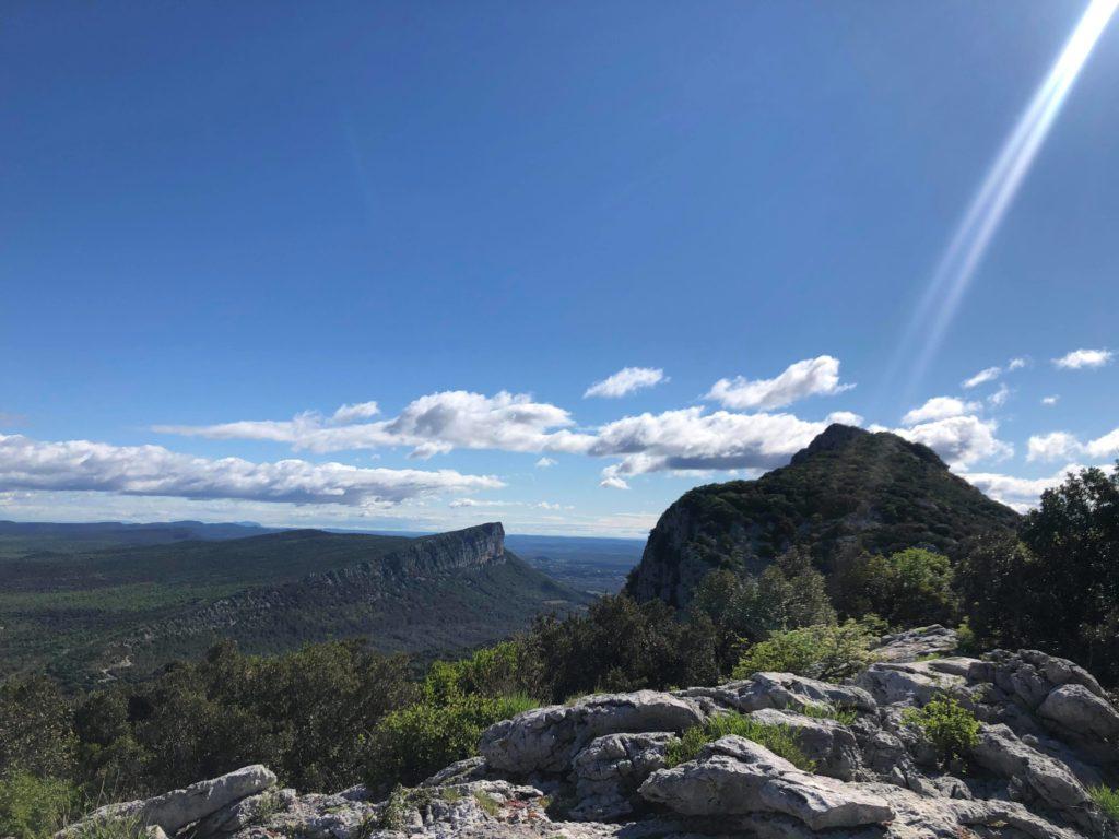 Panorama de rêve au Pic Saint Loup