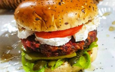 Recette d'hamburger végétalien