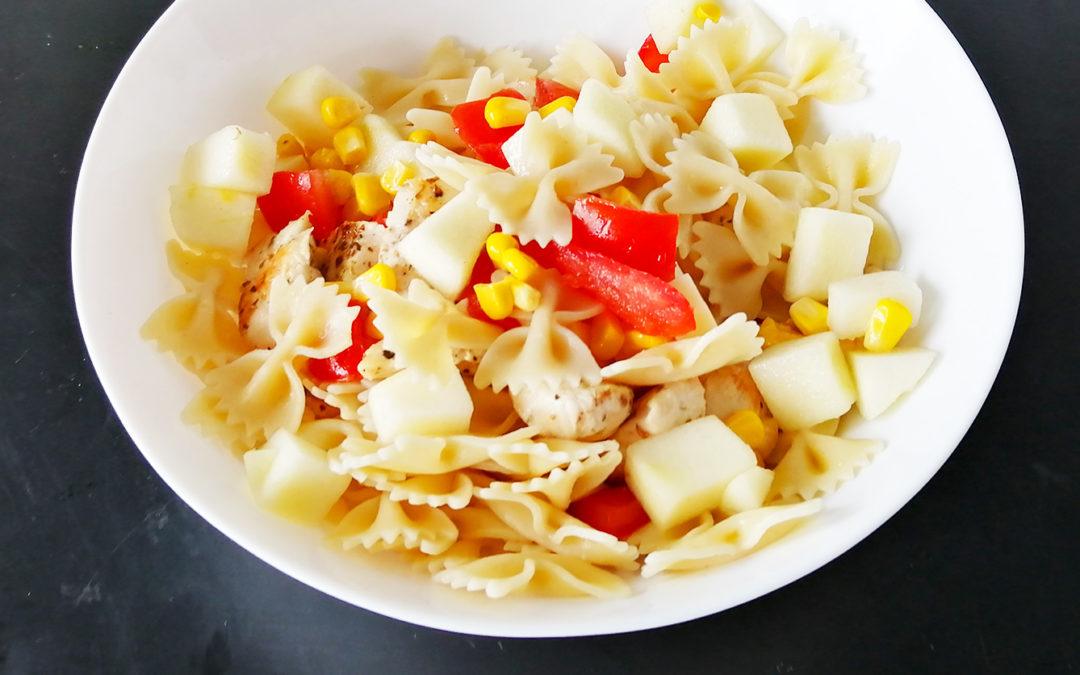 Recette de salade de pâtes composée